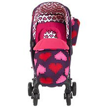 Buy Cosatto Yo! Stroller, Pixel Heart Online at johnlewis.com