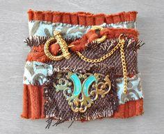 Fabric Gypsy Cuff Bracelet