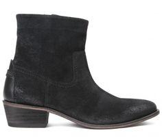 Laya Suede Black Boot