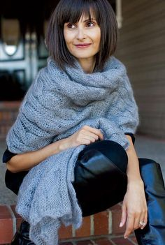 A roundup of our favorite cozy winter wrap patterns is shared on the Craftsy blog