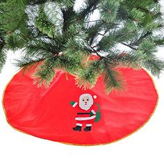 Saver Christmas Tree Skirt Red Christmas Xmas Decoration Ornament ** Want additional info? Click on the image.