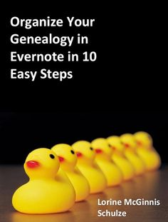 New Ebook: Organize Your Genealogy in Evernote in 10 Easy Steps