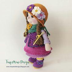 Yeni Haliyle Amigurumi Wendy Doll- New Version Amigurumi Wendy Doll amigurumi doll models and recipes pattern crochet Crochet Doll Clothes, Crochet Dolls, Crochet Hats, Crochet Motifs, Free Crochet, Crochet Patterns, Crochet Amigurumi, Amigurumi Doll, Cute Dolls