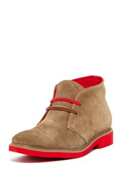From Steve Madden -- some might say these shoes are ugly, but I love the red sole.