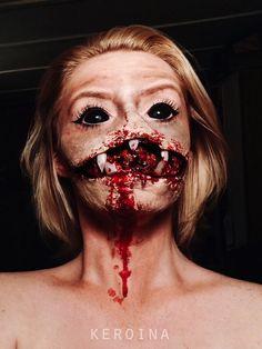 Gruesome Halloween Makeup