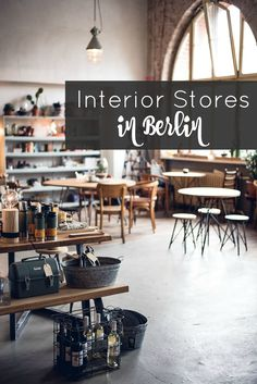 best interior stores in Berlin