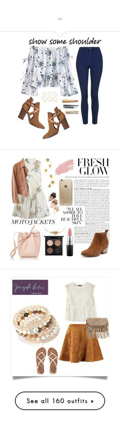 """""""..."""" by aylin-schroeder on Polyvore featuring Mode, Topshop, H London, ASOS, D&G, MAC Cosmetics, Too Faced Cosmetics, Topshop Unique, Armani Collezioni und Mansur Gavriel"""