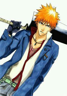 , I Bleach é um Anime que conta a história de um garoto de quinze anos, Kurosaki Ichigo. Ele não ...