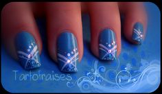 Go to my nail art blog for more infos and videos tutorial : nail-art.overblog.fr