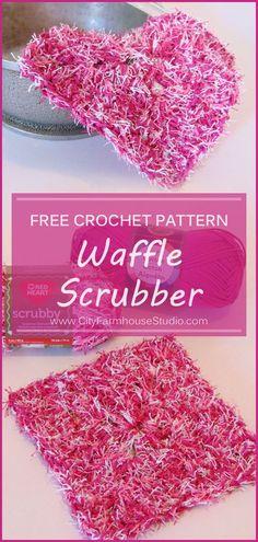 Free crochet scrubby