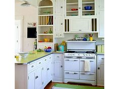 Retro Kitchen - Home and Garden Design Idea's