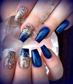 30 Glittery Nail Art Designs Nails Pinterest Nails Nail Art