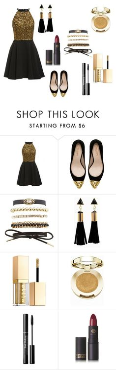 """""""Untitled #31"""" by therealfaye1 ❤ liked on Polyvore featuring Zara, Charlotte Russe, Stila, Milani and Lipstick Queen"""