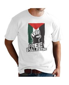 Islamic T-shirt T-shirts are made with premium cotton for exceptional softness. Designed to fit nicely for optimal comfort and a smooth fit, they are versatile enough to take you indoor and outdoor Palestine, Design Ideas, Street Style, Cotton, Mens Tops, T Shirt, How To Wear, Fashion Design, Tee Shirt