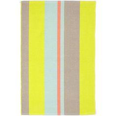 Dash and Albert Rugs Antibes Stripe Woven Cotton Area Rug & Reviews | Wayfair