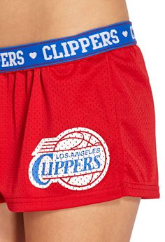 Los Angeles Clippers Shorts | FOREVER21 - 2000073248