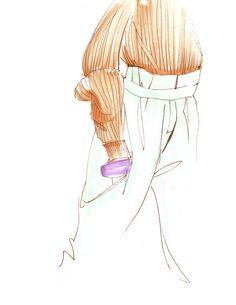Fashion Quickies by Rachel Nosco, via Behance
