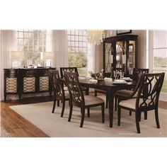 A.R.T. Furniture Inc Intrigue Formal Dining Room Group - Marlo Furniture - Formal Dining Room Group