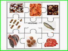 Χαρούμενες φατσούλες στο νηπιαγωγείο: ΤΑ 5 ΧΡΩΜΑΤΙΣΤΑ ΠΙΑΤΑ ΚΑΙ Η ΠΥΡΑΜΙΔΑ ΤΗΣ ΔΙΑΤΡΟΦΗΣ. Seasons Months, Eating Habits, Dog Food Recipes, Diet, Vegetables, Healthy, Dog Recipes, Vegetable Recipes, Health