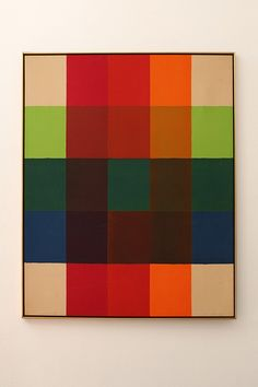 Inside Out IV  1966 Paul Reed (b1919), is an American artist most associated with the Washington Color School and Color Field Painting.