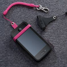 Never lose your phone in your purse again - clip it to your zipper & be able to find it without missing a call. Cute & practical