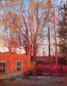 """Matgi Lucena, """"Taos Glow""""20x16"""