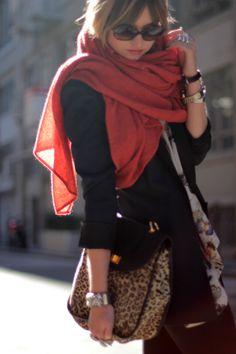 love scarf & jacket