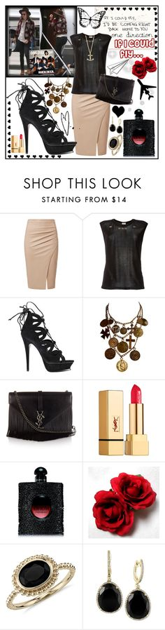 """If I could fly ~ 1D"" by kim-styles1987 ❤ liked on Polyvore featuring Yves Saint Laurent, Blue Nile, Effy Jewelry and Kate Spade"