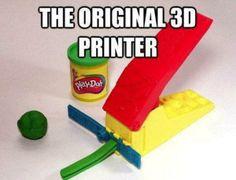 1st 3-D Printer