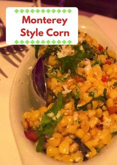 This side dish made with corn boasts #Mexican flavors and goes with pretty much anything