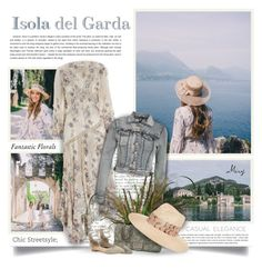 """Isola Del Garda"" by thewondersoffashion ❤ liked on Polyvore featuring Isolá, Zimmermann, Pilot, Chanel, Schutz and Eugenia Kim"