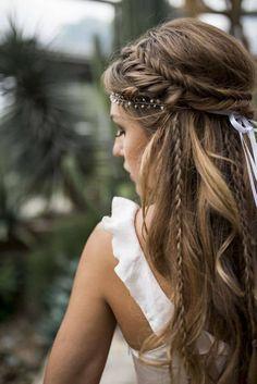 Love this hairstyle wedding hairstyles updo Wedding hairstyle, Wedding updo Wedding hairstyle trend, Bridal hair, Bridal inspiration, Wedding inspiration # brautfrisur Brautmode brautstyling brauthaare Veil Hairstyles, Wedding Hairstyles For Long Hair, Wedding Hair And Makeup, Hairstyle Wedding, Braided Bridal Hairstyles, Bohemian Wedding Hairstyles, Wedding Nails, Braids For Wedding, Hairstyle Ideas