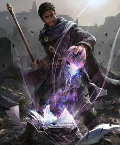 Magical absorption spell