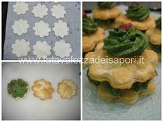 Millefoglie agli Spinaci con Pancetta croccante   http://www.latavolozzadeisapori.it/ricette/millefoglie-agli-spinaci-con-pancetta-croccante