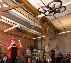 AR Drone That Infects Other Drones With Virus Wins DroneGames