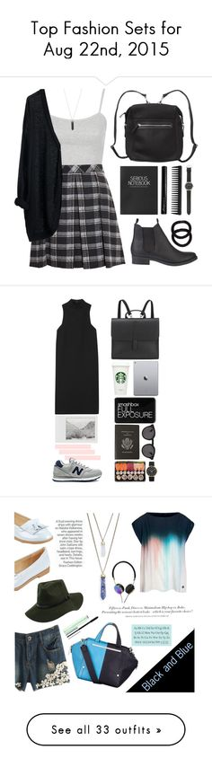 """""""Top Fashion Sets for Aug 22nd, 2015"""" by polyvore ❤ liked on Polyvore featuring Topshop, Proenza Schouler, MTWTFSS Weekday, SPURR, Monki, GHD, Antonym, J.Crew, John Lewis and Karen Kane"""