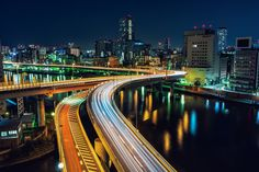https://flic.kr/p/pCsp49   Tokyo Highways   東京 2013  www.sandrobisaro.com - Store - Tumblr - Twitter Tokyo Tower, Japanese Photography, City Landscape, Tokyo Japan, City Lights, Anonymous, Roads, Cities, Road Routes