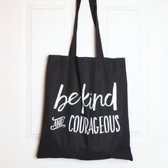 You can never have too many tote bags... well that's what we think anyway.  Whether you want to add to your collection or gift this to your bestie,  you'll love using it as much as we do.  Product details The bag measures 38cm wide x 41cm deep. It is made from high-quality black cotton and has been screen printed with  our inspirational mantra for you in white.
