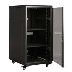 22RU 19 600mm Wide x 800mm Deep Server Rack:  FLAT PACK $550.00 ex GST