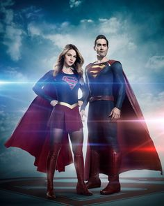 #Supergirl isn't the only new hero coming to The CW this fall. #TylerHoechlin is joining her as Superman!