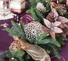 Holiday Centerpiece Garland