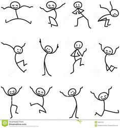 Terrific Stick Man Stick Determine Glad Leaping Celebrating – Obtain Extra Than Million Excessive High quality inventory photograph & pictures, Vectors, Vectors. Art Drawings For Kids, Drawing For Kids, Easy Drawings, Art For Kids, Pencil Drawings, Drawing Techniques, Drawing Tips, Drawing Tutorials, Drawing Ideas