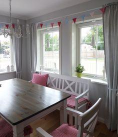 Kleine Lotta ~ Unser Schwedenhaus: Wimpelgirlande