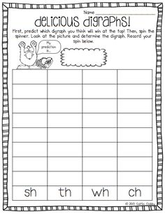 digraphs cut paste worksheet free wh th ch sh for my kinder class pinterest. Black Bedroom Furniture Sets. Home Design Ideas