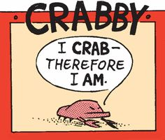 Mutts Comic - Crabby. Me in a nutshell!