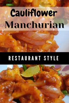 Gobi manchurian or cauliflower manchurian is a popular Indo Chinese appetizer. It contains fried pieces of gobi mixed in manchurian sauce to give gobi manchurian. This gobi manchurian recipe tastes just like the gobi manchurian we get in restaurants.