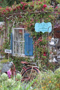 Rooted In Thyme: ~My Paris Flea Market Gazebo~