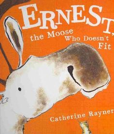 Ernest is a rather large moose with a rather large problem. He is so big he can't fit inside his book! Luckily, Ernest is also a very determined moose, and he and his little chipmunk friend aren't goi