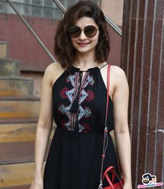 Prachi Desai snappedat Empire Studio Picture Gallery image # 356469 at Stars Spotted 2017 containing well categorized pictures,photos,pics and images. Casual Fall Outfits, Classy Outfits, Lengha Blouse Designs, Short Hair Outfits, Dress Indian Style, Indian Wear, Short Girl Fashion, Frocks And Gowns, Prachi Desai