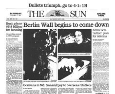 Berlin Wall Fall News From The New York Times Cold War